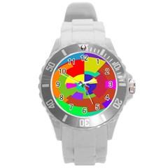 Pattern Plastic Sport Watch (large)