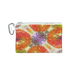 Abstract Lips  Canvas Cosmetic Bag (small)