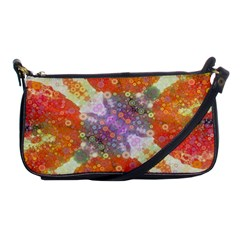 Abstract Lips  Evening Bag