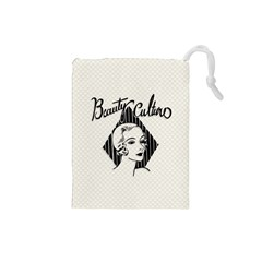 Vintage Beauty  Drawstring Pouch (Small)