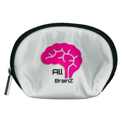 All Brains Leather  Accessory Pouch (Medium)