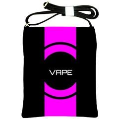 Vape Abstract Shoulder Sling Bag