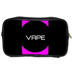 Vape Abstract Travel Toiletry Bag (two Sides)