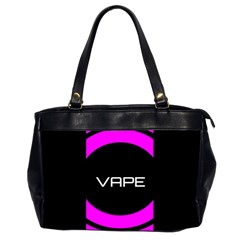 Vape Abstract Oversize Office Handbag (two Sides)