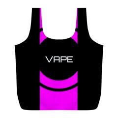 Vape Abstract Reusable Bag (L)