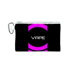 Vape Abstract Canvas Cosmetic Bag (Small)