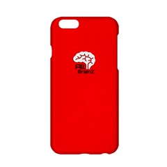 All Brains Red Apple iPhone 6 Hardshell Case