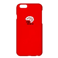 All Brains Red Apple iPhone 6 Plus Hardshell Case