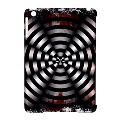Zombie Apocalypse Warning Sign Apple iPad Mini Hardshell Case (Compatible with Smart Cover)