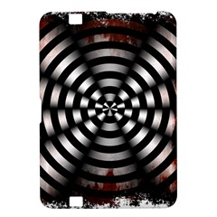 Zombie Apocalypse Warning Sign Kindle Fire Hd 8 9  Hardshell Case