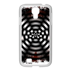 Zombie Apocalypse Warning Sign Samsung GALAXY S4 I9500/ I9505 Case (White)