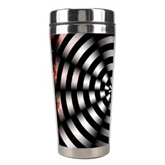 Zombie Apocalypse Warning Sign Stainless Steel Travel Tumbler