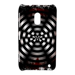Zombie Apocalypse Warning Sign Nokia Lumia 620 Hardshell Case