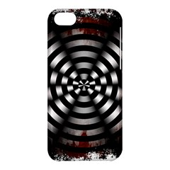 Zombie Apocalypse Warning Sign Apple iPhone 5C Hardshell Case