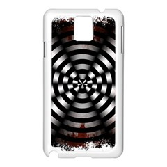 Zombie Apocalypse Warning Sign Samsung Galaxy Note 3 N9005 Case (white)