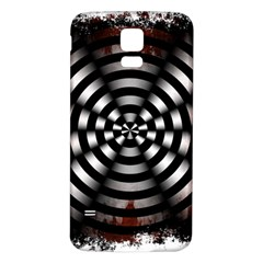 Zombie Apocalypse Warning Sign Samsung Galaxy S5 Back Case (white)