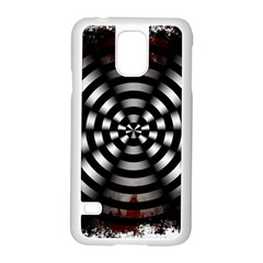 Zombie Apocalypse Warning Sign Samsung Galaxy S5 Case (White)