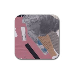 Clarissa On My Mind Drink Coaster (square)