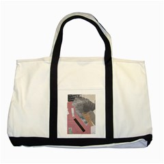 Clarissa On My Mind Two Toned Tote Bag