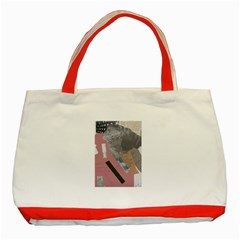 Clarissa On My Mind Classic Tote Bag (red)
