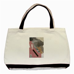 Clarissa On My Mind Twin-sided Black Tote Bag