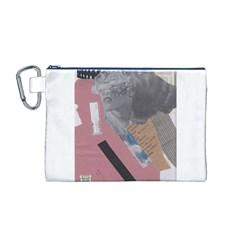 Clarissa On My Mind Canvas Cosmetic Bag (Medium)