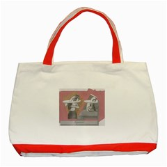 Marushka Classic Tote Bag (Red)