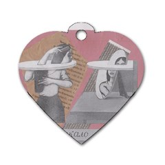 Marushka Dog Tag Heart (two Sided)