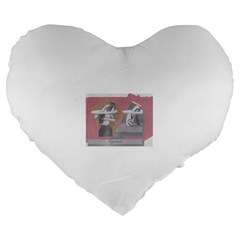 Marushka Large Flano Heart Shape Cushion