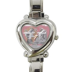 Marushka Heart Italian Charm Watch