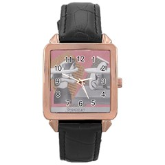 Marushka Rose Gold Leather Watch