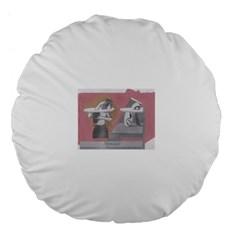 Marushka Large Flano Round Cushion