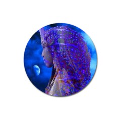 Moon Shadow Magnet 3  (round)