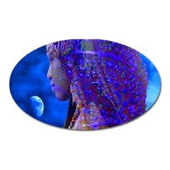 Moon Shadow Magnet (oval)