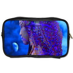 Moon Shadow Travel Toiletry Bag (one Side)