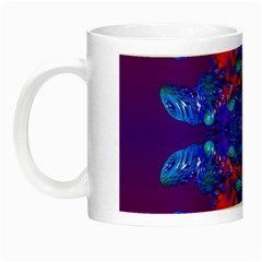 Abstract Reflections Glow In The Dark Mug