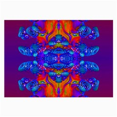 Abstract Reflections Glasses Cloth (large, Two Sided)