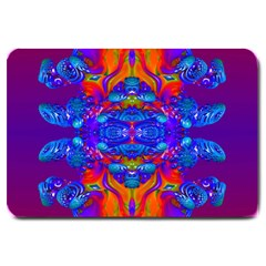 Abstract Reflections Large Door Mat