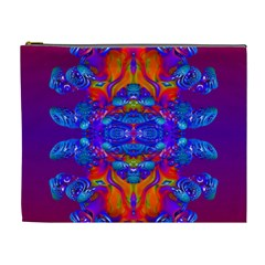 Abstract Reflections Cosmetic Bag (xl)