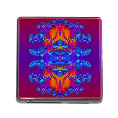 Abstract Reflections Memory Card Reader With Storage (square)