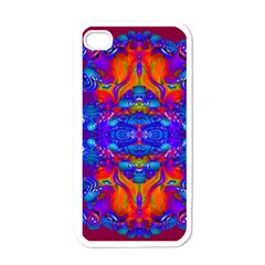 Abstract Reflections Apple Iphone 4 Case (white)