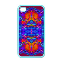 Abstract Reflections Apple Iphone 4 Case (color)