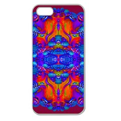 Abstract Reflections Apple Seamless Iphone 5 Case (clear)