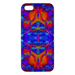 Abstract Reflections Iphone 5s Premium Hardshell Case