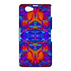 Abstract Reflections Sony Xperia Z1 Compact Hardshell Case