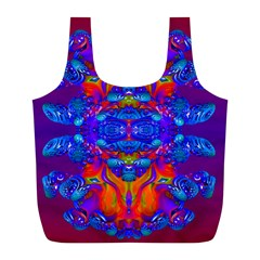 Abstract Reflections Reusable Bag (l)