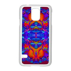 Abstract Reflections Samsung Galaxy S5 Case (white)