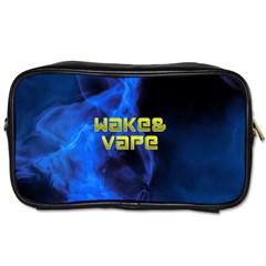 Wake&vape Blue Smoke  Travel Toiletry Bag (one Side)