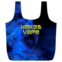 Wake&vape Blue Smoke  Reusable Bag (XL)