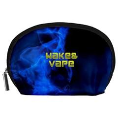 Wake&vape Blue Smoke  Accessory Pouch (Large)